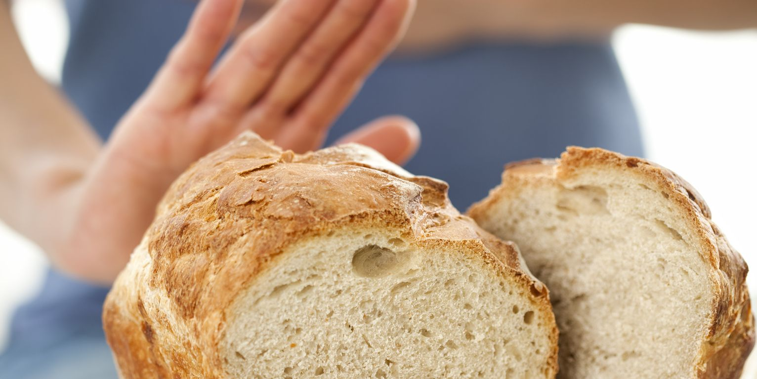 Gluten free concept: No bread, please