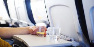 The one thing you should never drink on a plane