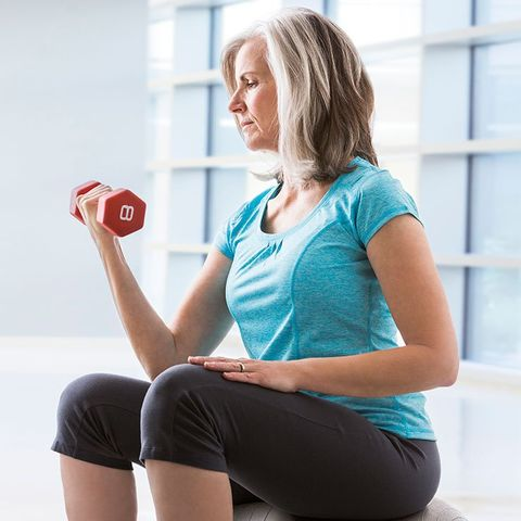 Strength training after menopause