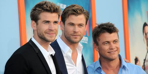 chris and liam hemsworth have crazy talented family hemsworth