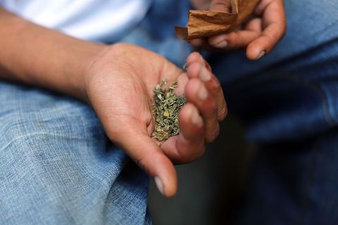 Synthetic Marijuana Is Making People Bleed From Their Eyes and Ears