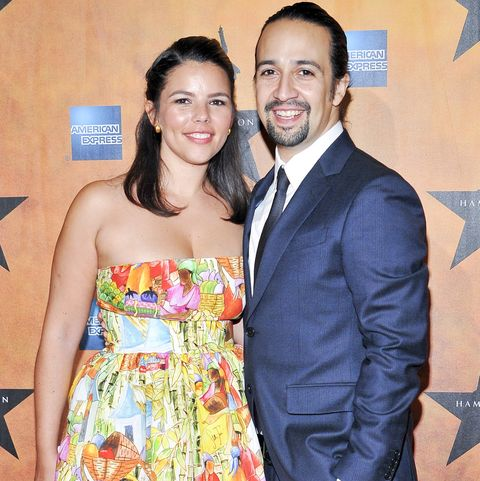 lin manuel miranda and vanessa nadal attend the hamilton broadway opening night afterparty on august 6, 2015