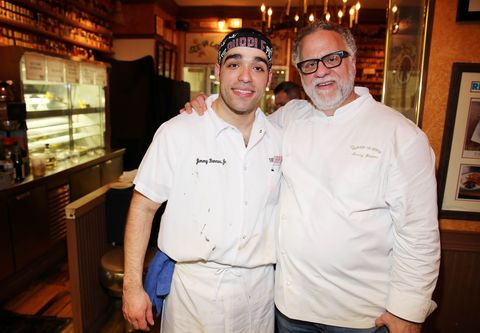 Chefs Jimmy Bannos and Jimmy Bannos Jr
