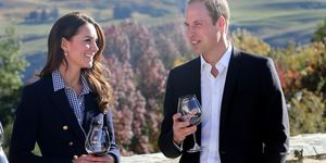 prince william with wine glass