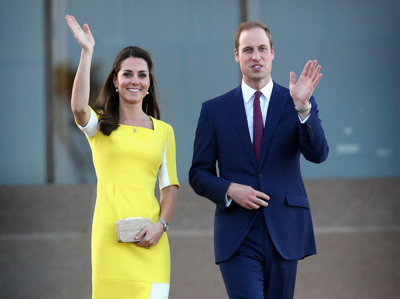 Kate Middleton Rewore a Roksanda Dress and Her Favorite Earrings