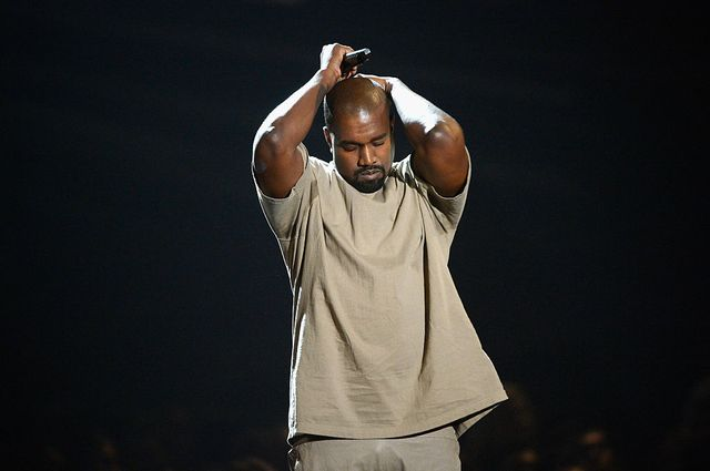 los angeles, ca   august 30  vanguard award winner kanye west speaks onstage during the 2015 mtv video music awards at microsoft theater on august 30, 2015 in los angeles, california  photo by kevork djanseziangetty images