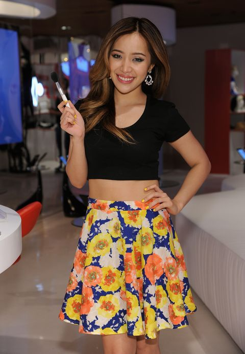 new york, ny   april 23  michelle phan attends unleash youtube event with stars michelle phan, rosanna pansino and bethany mota on april 23, 2014 in new york city  photo by dimitrios kambourisgetty images for youtube