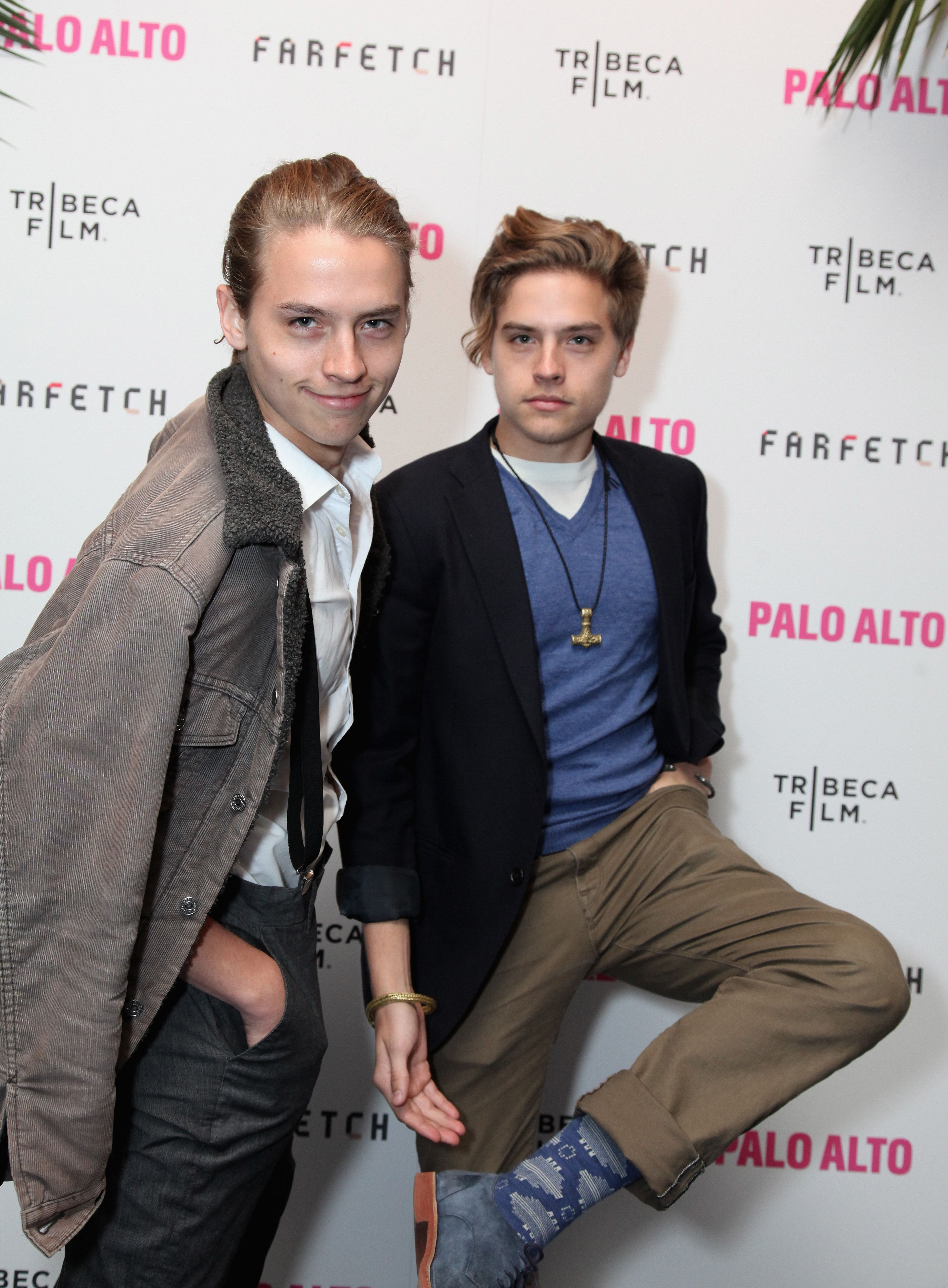 Zack and Cody are all type-top: actors in life and cinema