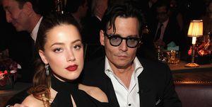 Jonny Depp and Amber Heard