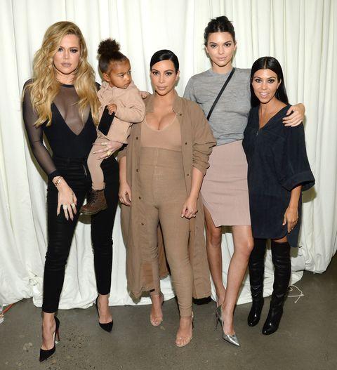 Kardashian and Jenner family