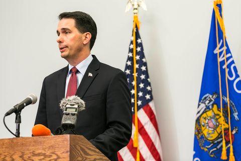 Scott Walker Announces He's Ending His Presidential Bid