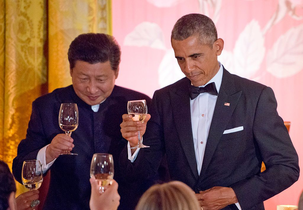 barack obama meeting president of china
