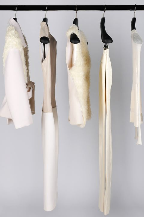 Product, Textile, White, Natural material, Feather, Clothes hanger, Grey, Collection, Beige, Tan,