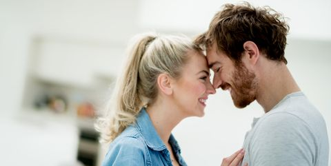 Cheek, Skin, Forehead, Nose, Shoulder, Interaction, Love, Romance, Jaw, Conversation,