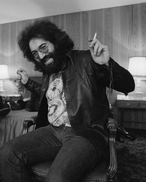 singer songwriter and guitarist jerry garcia 1942   1995 of american rock band the grateful dead, london, 4th april 1972 photo by michael putlandgetty images