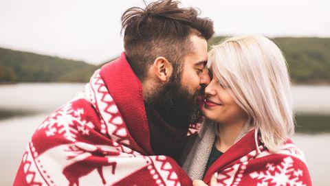Romance, Love, Red, Interaction, Hug, Kiss, Forehead, Honeymoon, Photography, Happy,