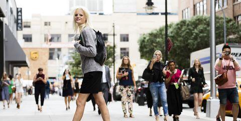 Photograph, Street fashion, People, Fashion, Snapshot, Street, Footwear, Urban area, Pedestrian, Fun,