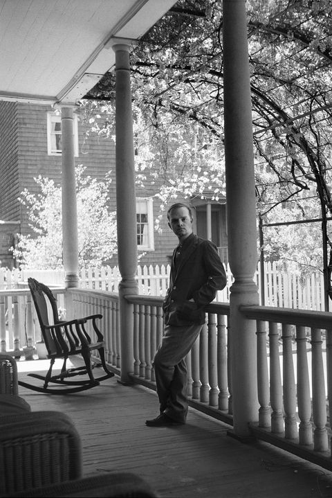 Truman Capote At Home In Brooklyn