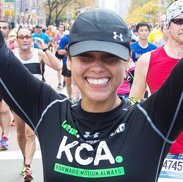 celebrity marathoners, celebrities who run marathons, alicia keys, alicia keys marathon