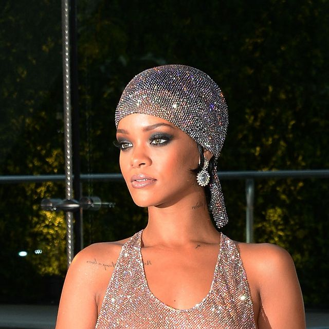 new york, ny   june 02  editors note image contains nudity rihanna attends the 2014 cfda fashion awards at alice tully hall, lincoln center on june 2, 2014 in new york city  photo by larry busaccagetty images