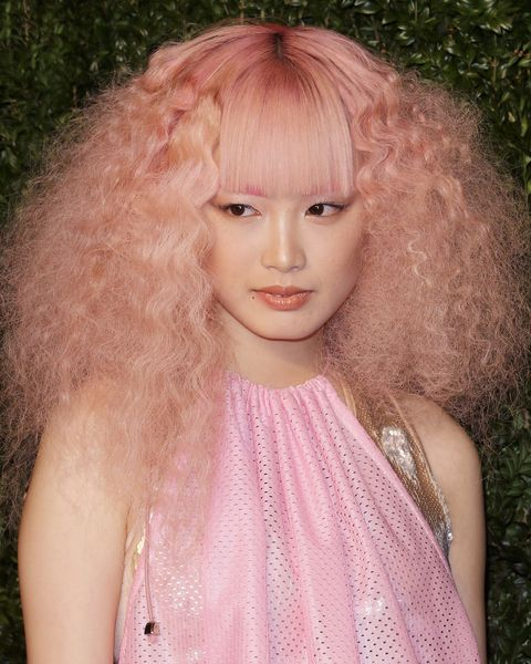 Pink Hair Ideas-Fernanda Ly