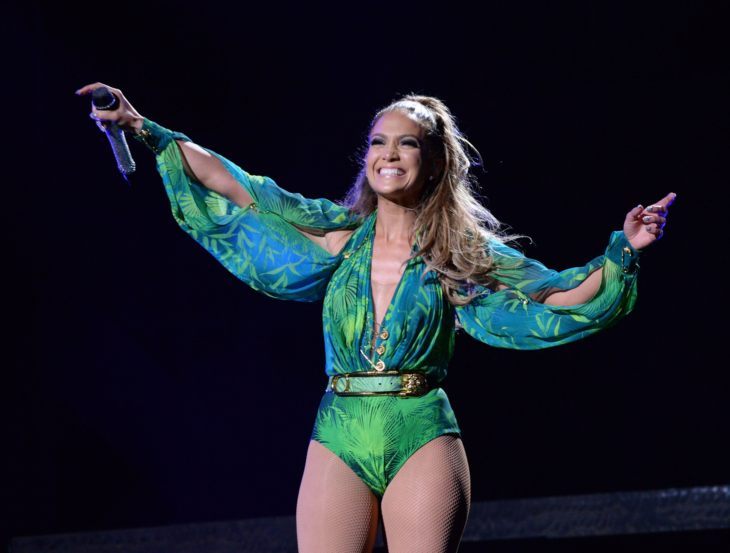a9d6431f Jennifer Lopez's Versace Dress Is Now Available As a Sneaker