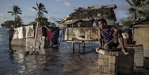 Life-threatening Sea Level Rise in Kiribati