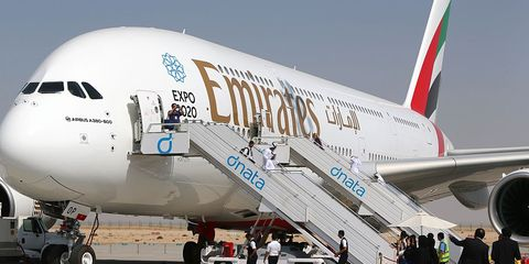 Airline, Air travel, Airliner, Airplane, Wide-body aircraft, Aviation, Aircraft, Aerospace engineering, Vehicle, Airbus a380,