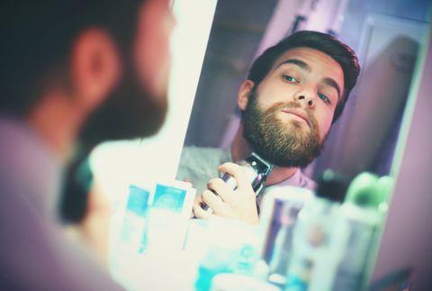 Hair, Facial hair, Beard, Head, Cool, Chin, Forehead, Mouth, Fun, Moustache,