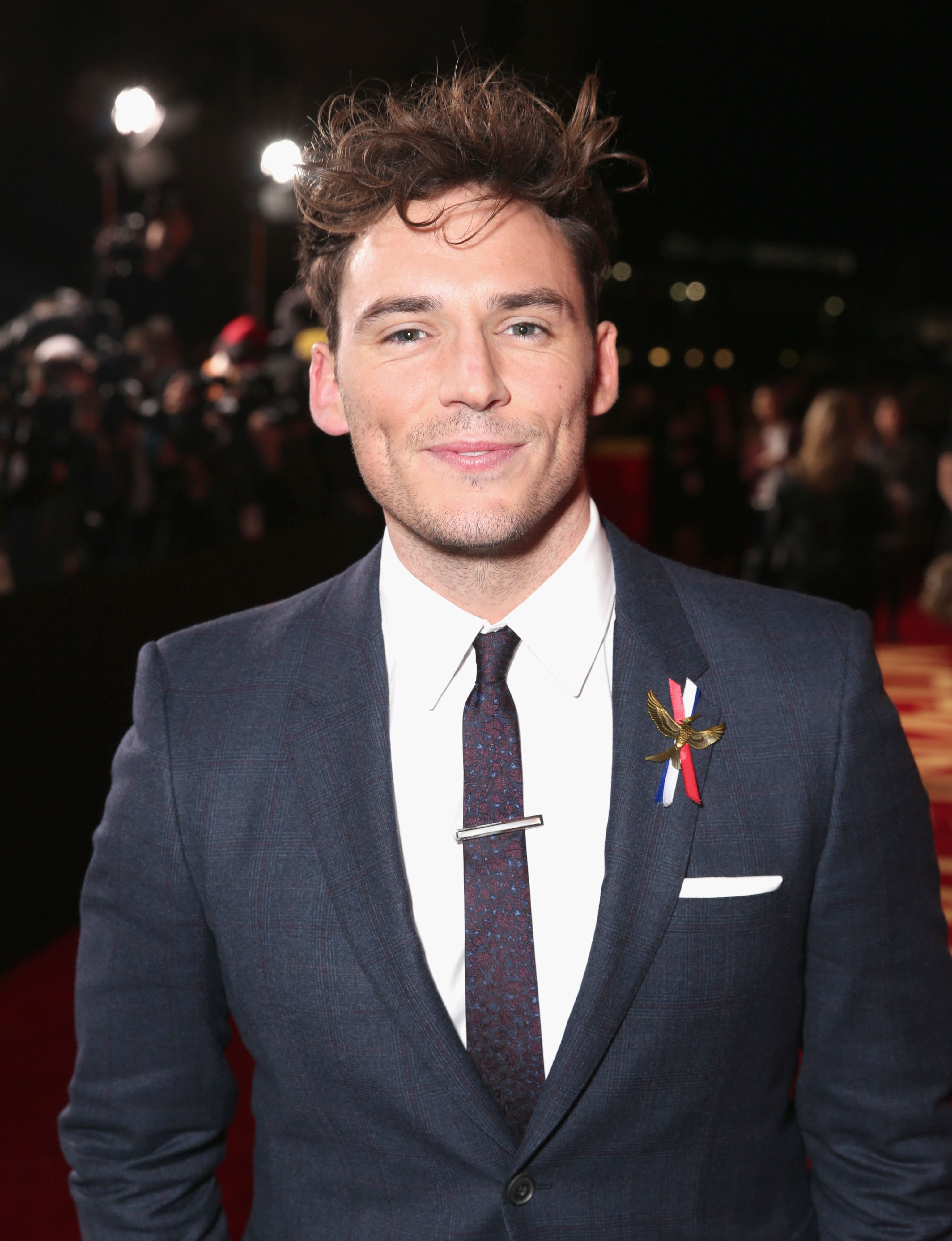 Why Sam Claflin Likes to Be Friends Before He Dates Someone