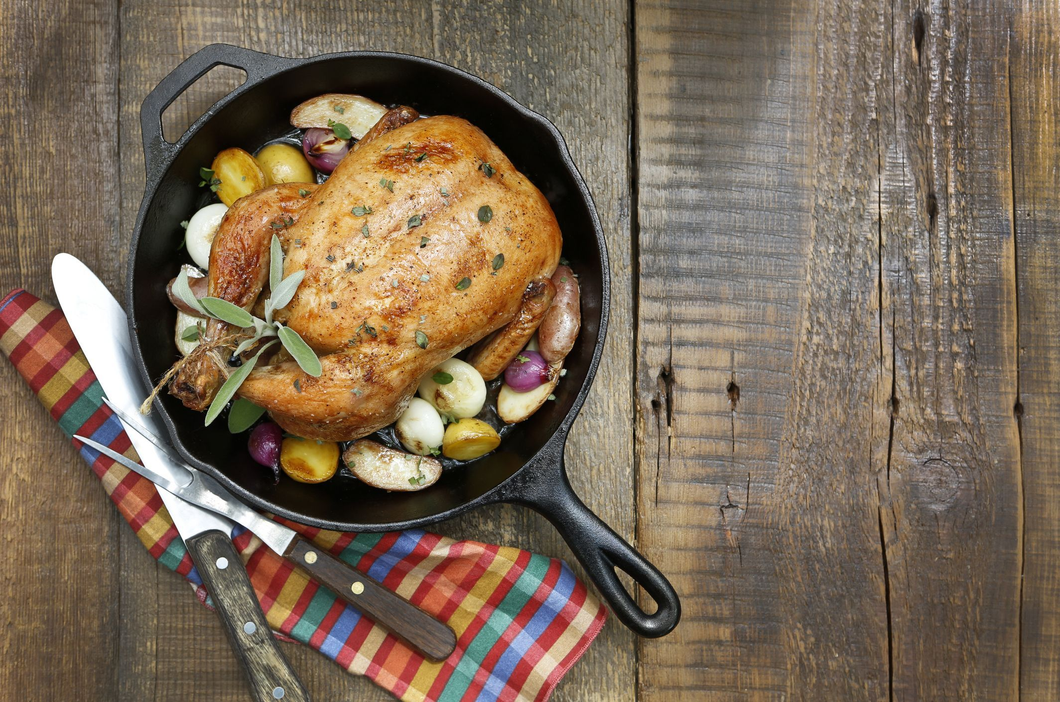 There's Only One Right Way to Roast a Chicken