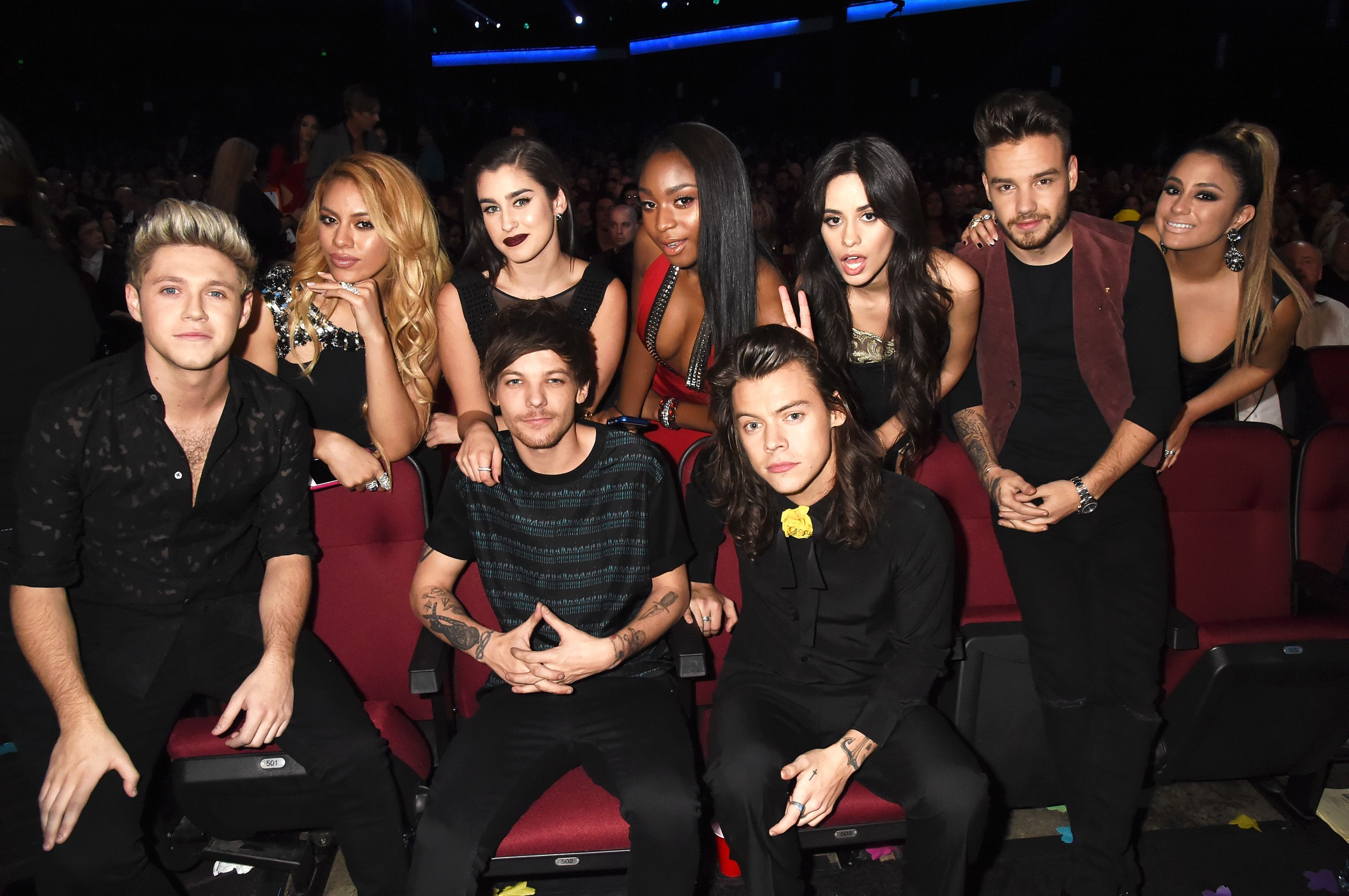 Who are the members of fifth harmony dating one direction