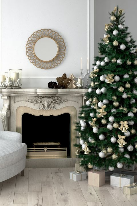 25 Stunning Christmas Living Rooms - Holiday Living Room ...