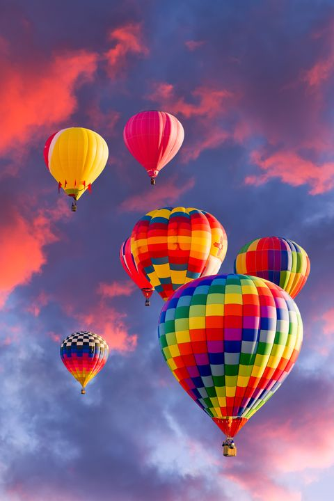 Balloons over Albuquerque