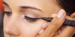 perfecte eyeliner streep