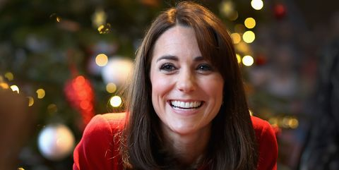 Hair, Face, Facial expression, Red, Smile, Head, Beauty, Christmas, Lip, Brown hair,