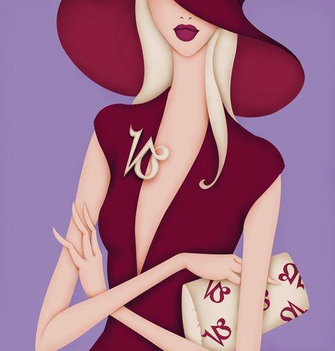Cartoon, Illustration, Pink, Fashion illustration, Style, Animation, Magenta, Fictional character, Anime, Art,