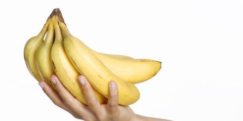 Giving banana.