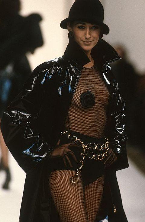 chanel 1991 runway model gisele zelauy