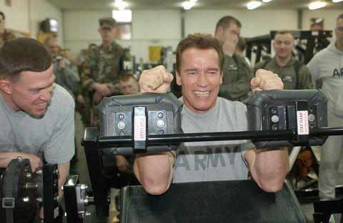 Arnold Schwarzenegger;Mark Compton