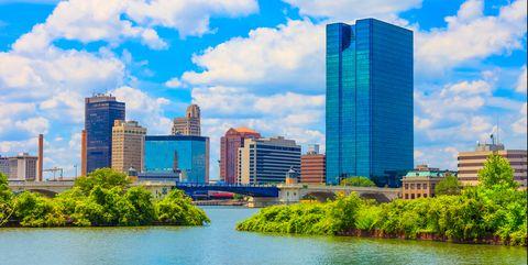 City, Metropolitan area, Cityscape, Skyline, Daytime, Nature, Sky, Urban area, Skyscraper, Natural landscape,