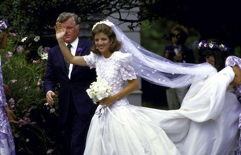 Caroline Kennedy S Wedding Photos Of Caroline Kennedy And Edwin
