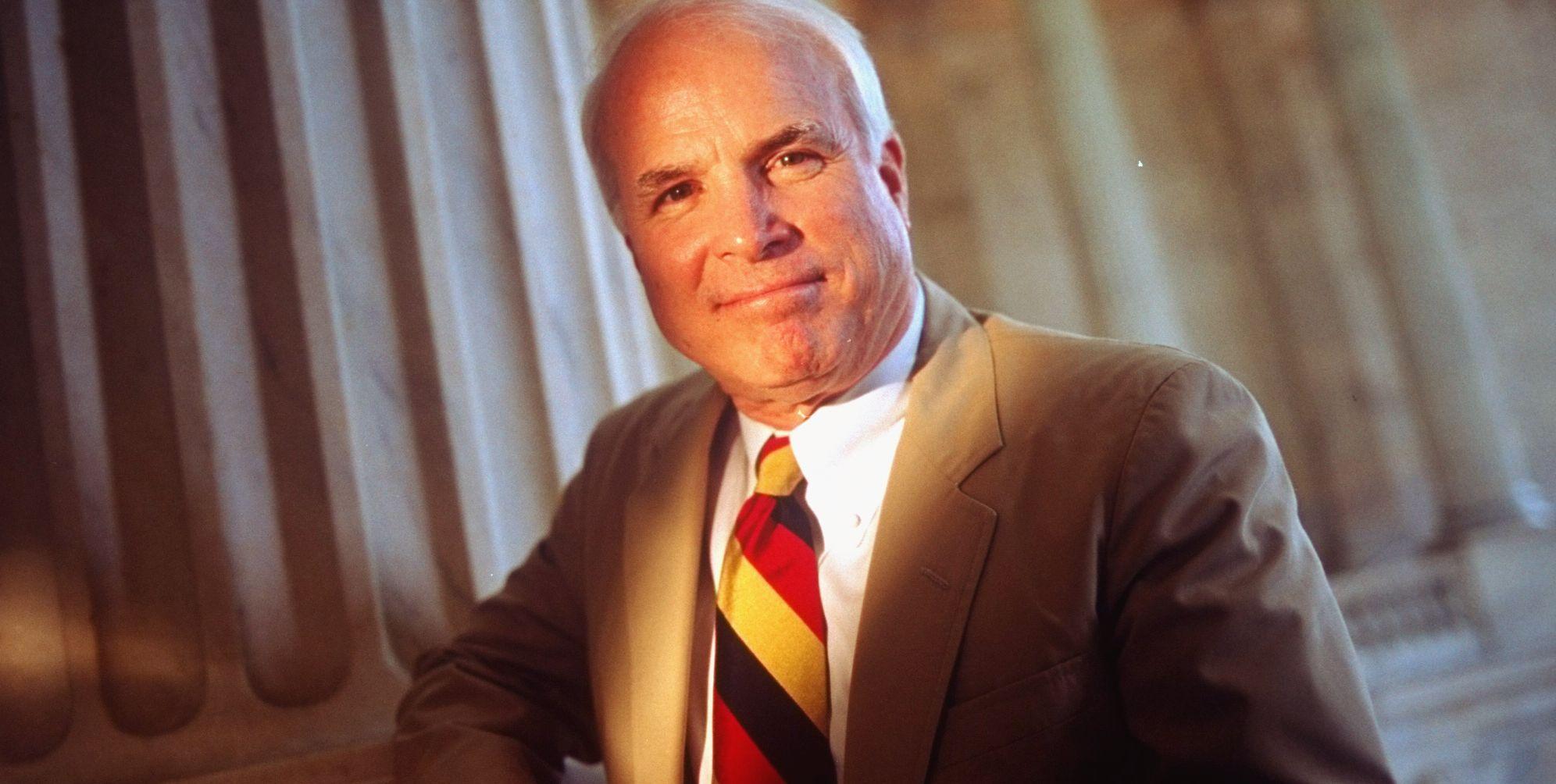 Portrait Of Senator McCain