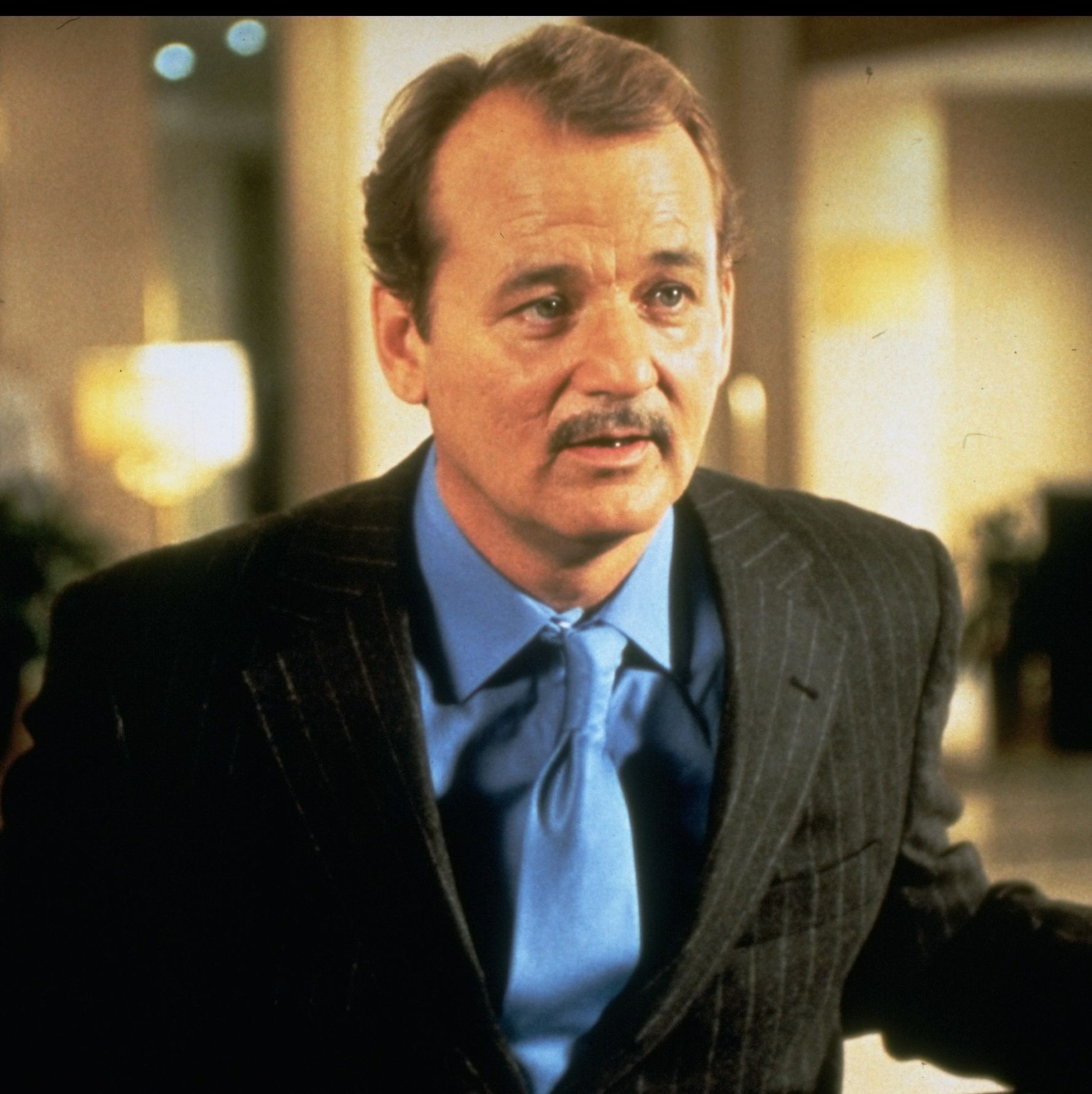 1998: Bill Murray The famous actor used his mustache in a variety of contexts, most notably in movies like Rushmore for the character of Herman Blume.
