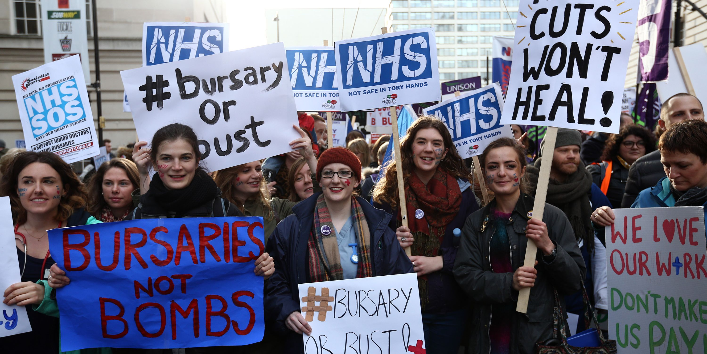 'It's Available To Everyone, No Questions Asked': Women Of The NHS On Its 70th Anniversary