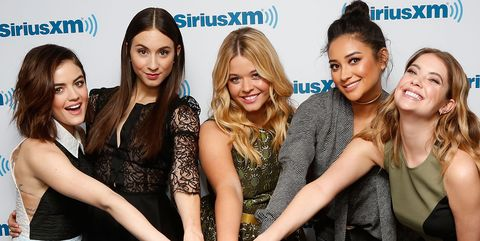The pretty little liars cast might reunite on dancing with the image getty images pretty little liars m4hsunfo