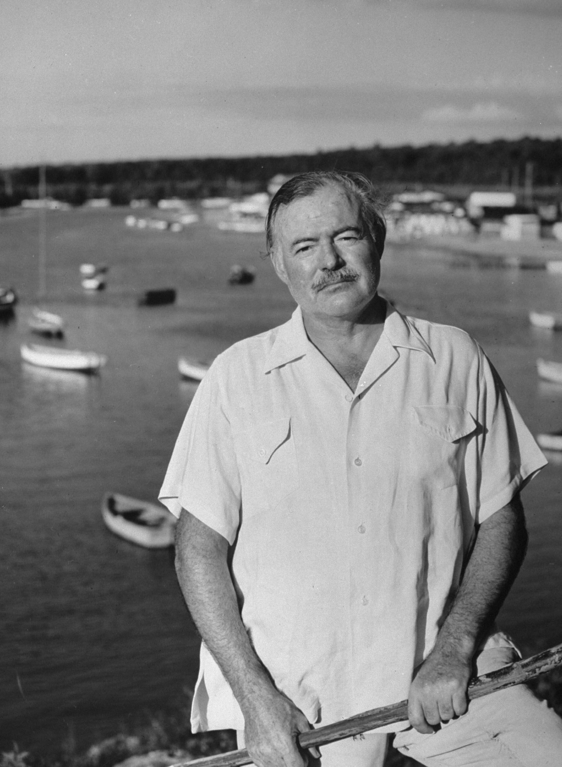 Words To Live By: Ernest Hemingway