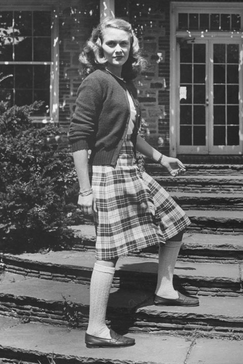 Photograph, Standing, Clothing, Tartan, Kilt, Vintage clothing, Black-and-white, Retro style, Snapshot, Pattern,