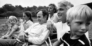 George H.W. Bush Barbar Bush and Family