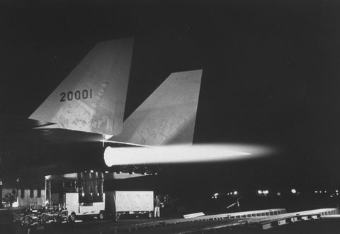 on the eve of the b70s test flight photo by ralph cranethe life picture collection via getty images